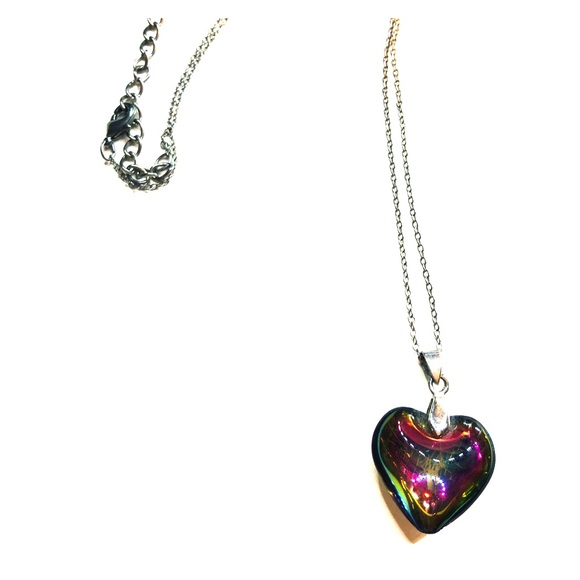 Jewelry - Multicolor Heart Necklace